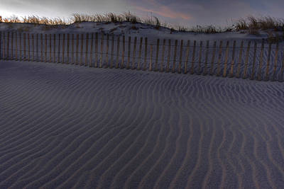 Sand Fence At Robert Moses Art Print