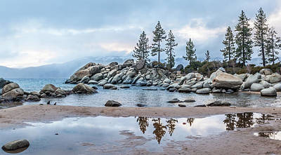Sand Harbor Art Print