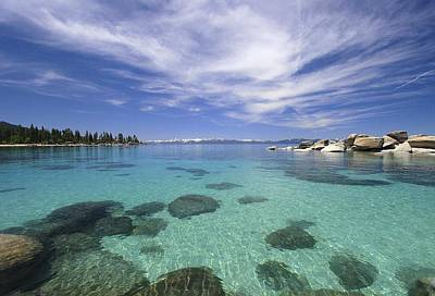 Photograph - Sand Harbor Drama by Sean Sarsfield
