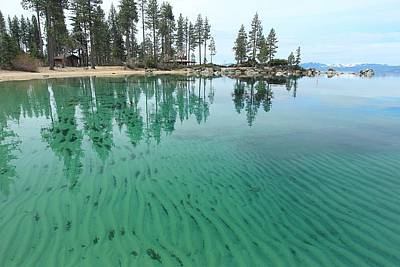 Photograph - Sand Harbor In April by Sean Sarsfield