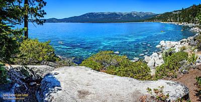 Photograph - Sand Harbor Lake Tahoe Panorama by LeeAnn McLaneGoetz McLaneGoetzStudioLLCcom