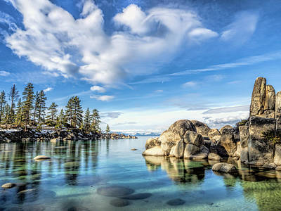Photograph - Sand Harbor Morning by Martin Gollery