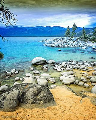 Photograph - Sand Harobr Lake Tahoe by LeeAnn McLaneGoetz McLaneGoetzStudioLLCcom