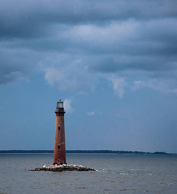 Photograph - Sand Island Lighthouse by Stefanie Silva