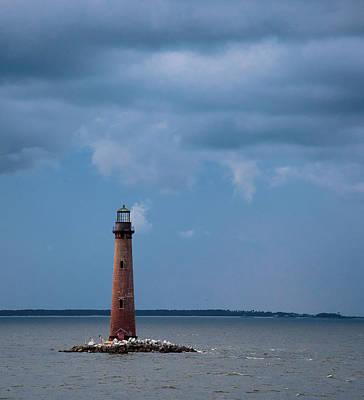 Photograph - Sand Island Lighthouse by Stefanie Silva