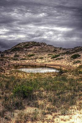 Photograph - Sand Landform by Randy Pollard