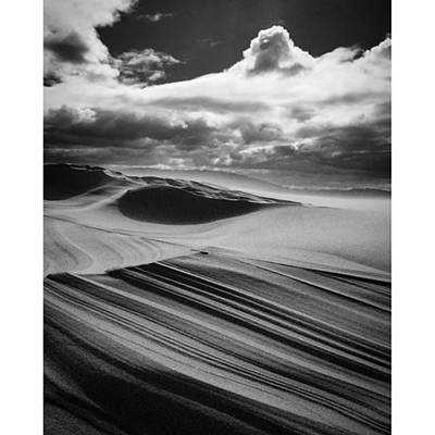 Photograph - Sand Layers Photo By @pauldalsasso by Paul Dal Sasso