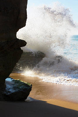 Photograph - Sand Line by Edgar Laureano