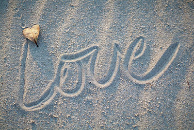 Photograph - Sand Love by Robert Munden