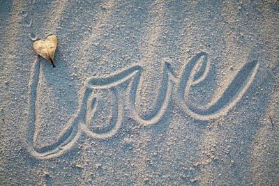 Photograph - Sand Love by Robert Munden