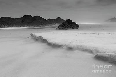 Sea And Rocks Photograph - Sand by Masako Metz