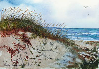 Sand Mount Art Print