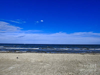 Photograph - Sand, Ocean, Sky by Ella Kaye Dickey