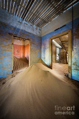Mining Photograph - Sand On The Floor by Inge Johnsson
