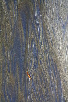 Photograph - Sand Patterns At Moeraki by Nareeta Martin