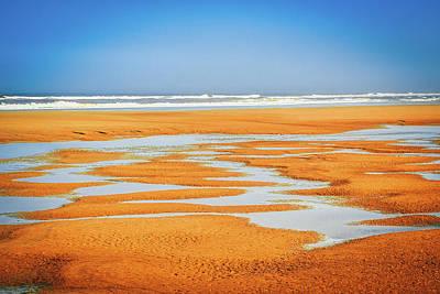 Photograph - Sand Patterns No.2 by Bonnie Bruno