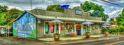 Photograph - Sand People Retail Store Haleiwa Hawaii Collection Art by Reid Callaway