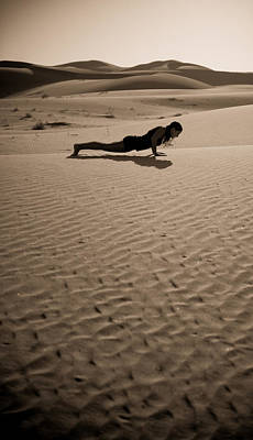 Photograph - Sand Plank by Scott Sawyer