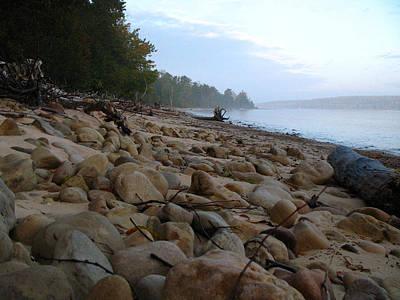 Landscape Photograph - Sand Point Sunrise by Cathy Weaver