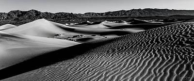 Photograph - Sand Ripples by Nick Borelli