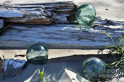 Photograph - Sand, Sea, And Glass by Denise Bruchman