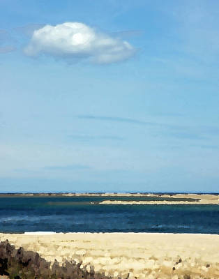 Cape Cod Photograph - Sand Sea And Sky by Brooke T Ryan