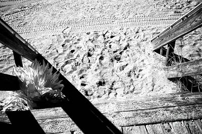 Photograph - Sand Steps by John Rizzuto