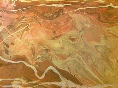 Painting - Sand Storm by C Maria Wall