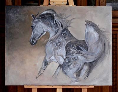 Painting - Sand Storm by Dorota Kudyba