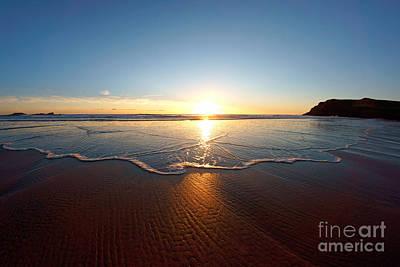 Photograph - Sand Textures by Minolta D