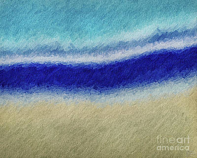 Mixed Media - Sand To The Sea by David Millenheft