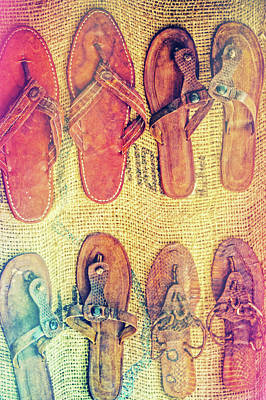 Photograph - Sandals by Karol Livote