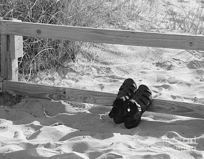 Photograph - Sandals by Lennie Malvone