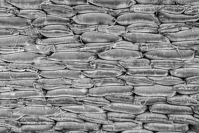 Photograph - Sandbagging by Steven Green