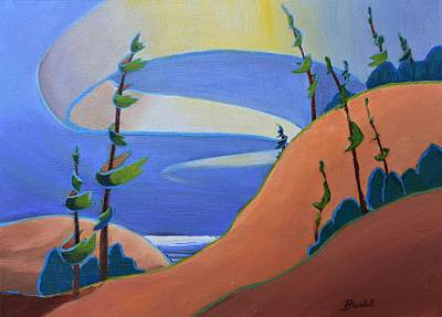 Painting - Sandbanks by Barbel Smith