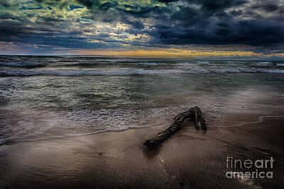 Photograph - Sandbanks Surf by Roger Monahan