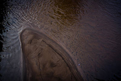 Photograph - Sandbar by Alex Leonard