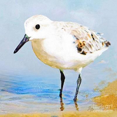 Painting - Sanderling by Tammy Lee Bradley