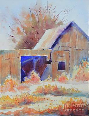 Sanderson Barn I Original by Marsha Reeves