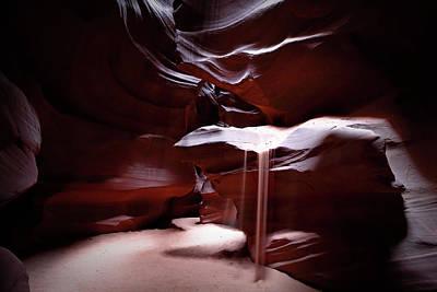 Photograph - Sandfall by Nicholas Blackwell