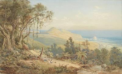 Sandfly Bay Otago, Circa 1879 United Kingdom By Nicholas Chevalier. Art Print by Celestial Images