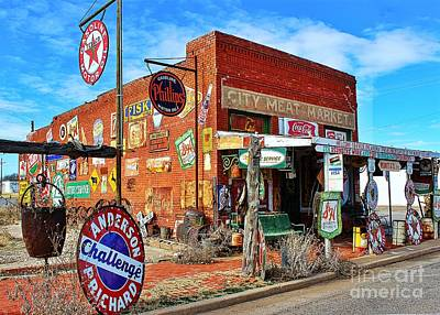 Photograph - Sandhills Curiosity Shop by Jenny Revitz Soper