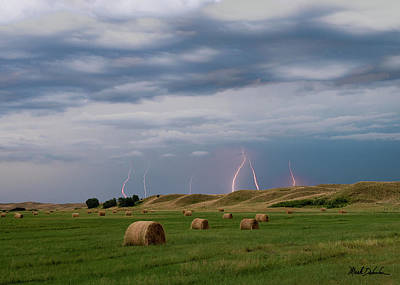 Photograph - Sandhills Thunderstorm by Mark Dahmke