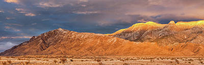 Photograph - Sandia Crest Stormy Sunset 2 by Alan Vance Ley