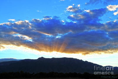 Sandia mountains prints page 5 of 26 fine art america sandia mountain sunrise art print sciox Choice Image