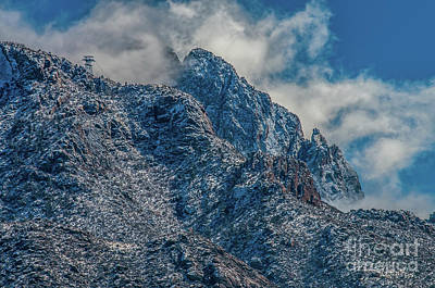 Photograph - Sandia Mountains 2 by Steve Whalen