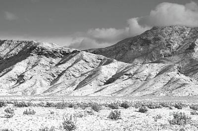 Photograph - Sandia Mountains Desert Snow Classic by Andrea Hazel Ihlefeld