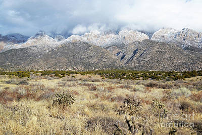 Photograph - Sandia Mountains Foothills Countryside by Andrea Hazel Ihlefeld