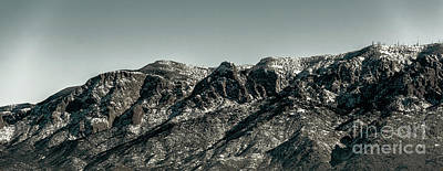 Photograph - Sandia Mountains by Jon Burch Photography