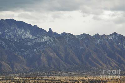 Photograph - Sandia Mountains Rustic Desert Countryside by Andrea Hazel Ihlefeld